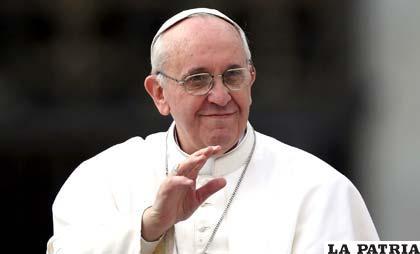 El Papa Francisco mandó mensaje para Bolivia