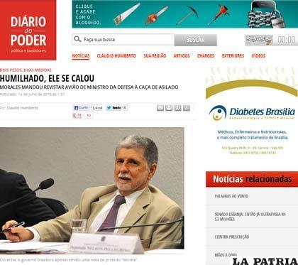 """""""Diario do Poder"""", de Brasil"""