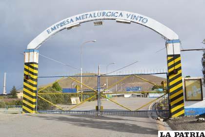 Se desconocen resultados de los niveles de contaminación de la metalúrgica Vinto