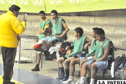 Parte de la selección que representará a Oruro