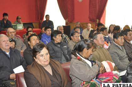 Representantes vecinales celebraron nuevo aniversario institucional