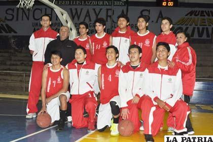 La selección de Tarija que anoche venció al local Oruro