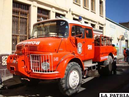 El carro bombero B311