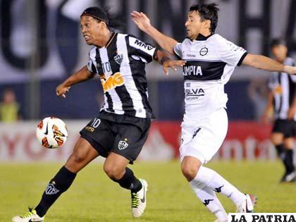 Ronaldinho Gaúcho intentará conseguir hoy la primera Copa Libertadores para el Atlético Mineiro