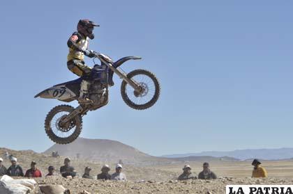 Los motociclistas orureños se presentarán en Cliza