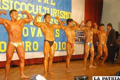 Se cumplirá el primer curso de base alimentación en Oruro para fisicoculturistas