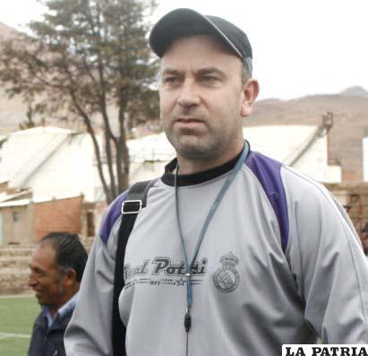 Víctor Zwenger, DT. de Real Potosí