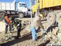 Ayer funcionarios y autoridades de varias instituciones limpiaron en el sector del Tagarete
