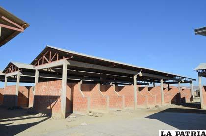 El mercado San Miguel no tiene comerciantes