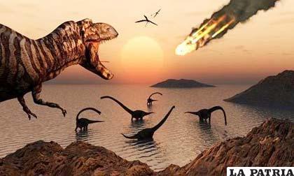 Resultado de imagen de La desaparición de los dinosaurios