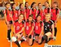 Economía venció con autoridad a  Alemán en el voleibol femenino: 2-0