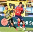 Oscar Díaz con el dominio de la pelota