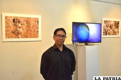 Emilio Achocalla inauguró nueva muestra de fotografías
