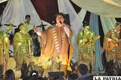 Yuri Ortuño en el Festival del Solsticio de Invierno