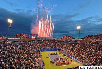 El acto inaugural en la disciplina del tenis en los Juegos  Panamericanos /toronto2015.org