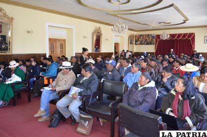 Comunarios afectados por contaminación en subcuenca Huanuni piden pronta remediación