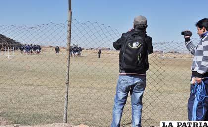 Víctor Barrientos no permitió el ingreso de fotógrafos ni camarógrafos para realizar la cobertura del entrenamiento de San José