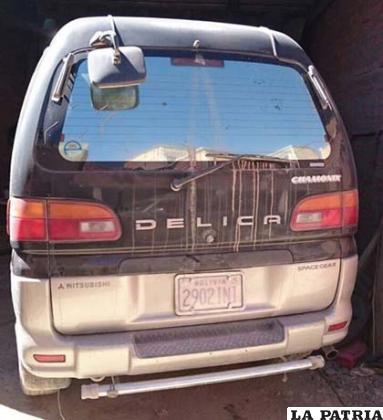 La vagoneta Mitsubishi Delica