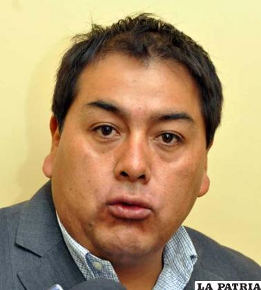 El ex diputado Ever Moya /ABI