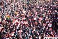 Marcha potosina en apoyo a dirigentes cívicos que dialogan en La Paz /APG