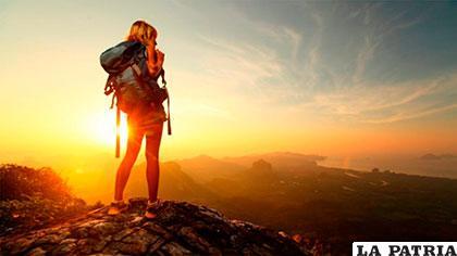 Viajar y dejar cosas atrás es una forma de reinventarse