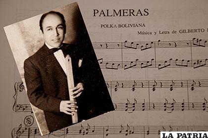El maestro compositor, Gilberto Rojas Enríquez