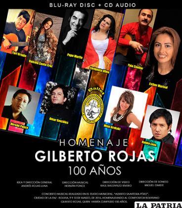 Reconocidos artistas rindieron su homenaje a Rojas