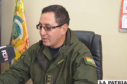 El director de la Felcv, coronel Franz Ticona, informó que el autor del hecho estaría aprehendido
