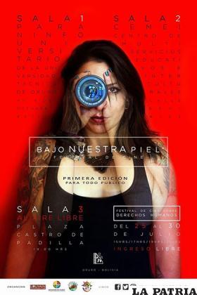 Afiche promocional del Festival de Cine