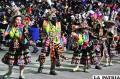 Presentación de los Tinkus Jairas en el Carnaval 2016