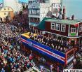 Miles de islandeses reciben a sus héroes en Reikiavik