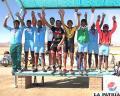 Oruro campeón del nacional  de pista con 43 preseas
