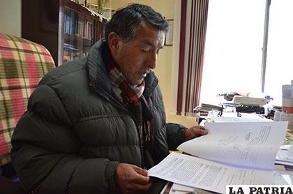 El juez de Ejecución Penal, Germán López, informó sobre el caso /Archivo