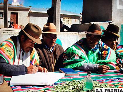 Tercera consulta previa realizada en Andapata se declaró sin acuerdo