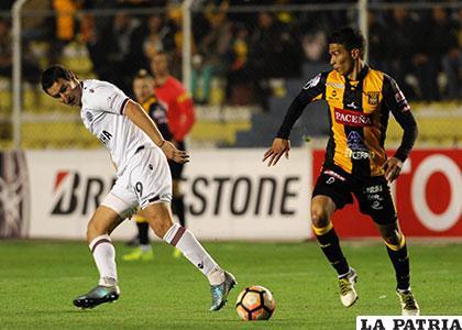 Diego Bejarano fue el autor del gol del empate para The Strongest /APG