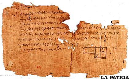 Se puede reconstruir un papiro cuando le faltan algunas partes /LANAVEVA.WORDPRESS