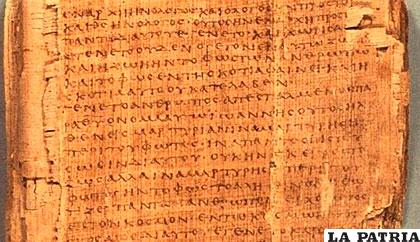 Muchos papiros fueron copiados y recopiados /ABC.ES