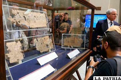 Papiros antiguos fueron expuestos en Austria /IVDE.ORG