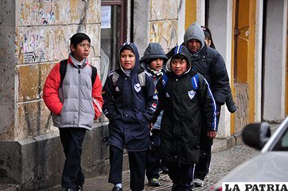 Amplían las vacaciones escolares en la zona andina