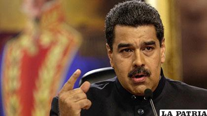 Maduro convoca a Consejo de Defensa tras amenaza de sanciones de Trump