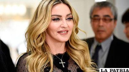 Madonna detiene una subasta con objetos personales