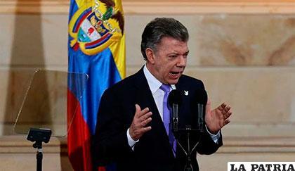 Con la firma de la paz Colombia logró algo que parecía imposible — Santos