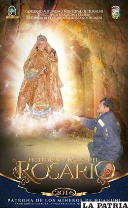 La Virgen del Rosario es patrona de los huanuneños /Alcaldia Huanuni