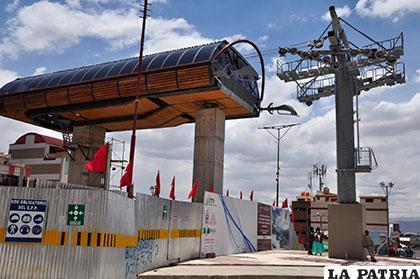 El gobernador Vásquez habló sobre las críticas al convenio del proyecto del Teleférico Turístico /Archivo