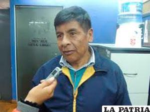 José Luis Chorolque, viceministro de Cooperativas Mineras /MINERIA.GOB.BO