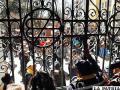 Movilización que cerró las puertas del Gobierno Municipal
