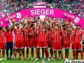 El Bayern conquistó la copa al derrotar en la final al Werder Bremen por 2-0