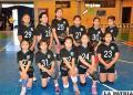 DPR superior a CVO en el voleibol Mini Niñas