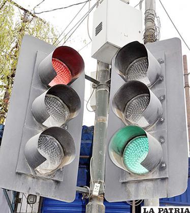 Varios semáforos ya no funcionan en las calles de la ciudad