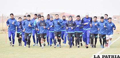 27 jugadores se hicieron presentes en el primer día de entrenamiento